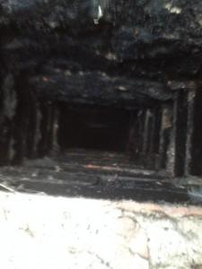 canna fumaria vecchia in mattoni