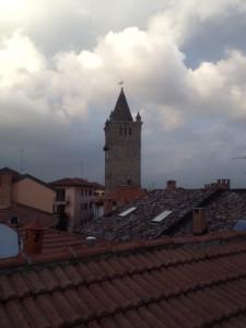 torre vista dal tetto